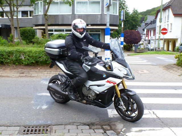 Peter on his BMW S1000XR