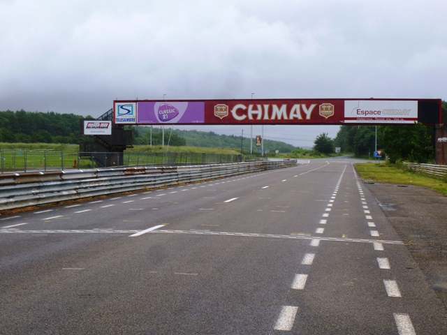 Our of place - the Circuit Chimay in Belgium