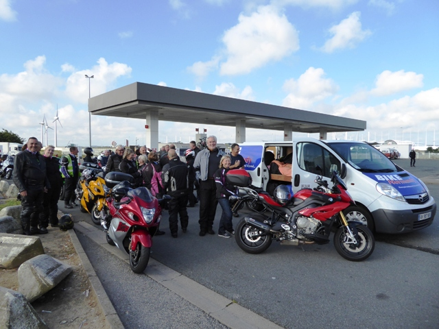 We collect a few more at Eurotunnel
