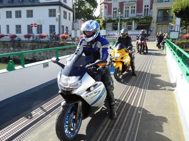 Steve - BMW K1300 & Paul - Hayabusa