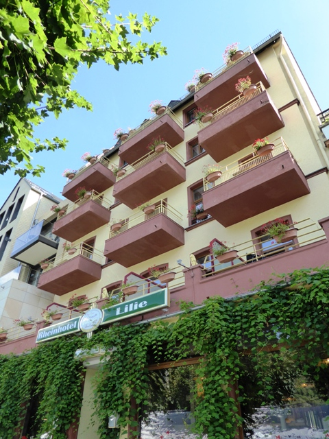 Our hotel for three nights in Boppard