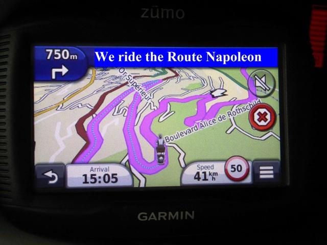 "Ride the twisty ""Route Napoleon"""