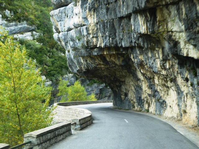 We ride the Gorges of the Verdon
