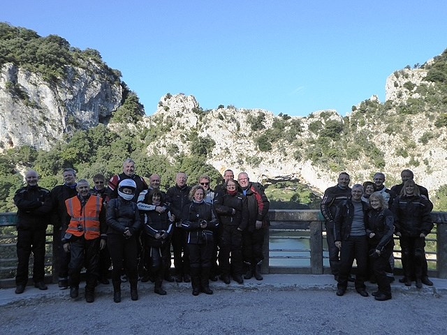 The Group at the end of the Gorges