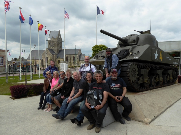 Our next visit is the Airborne Museum at St Mere Eglise