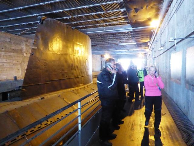 We go on board the Espadon submarine