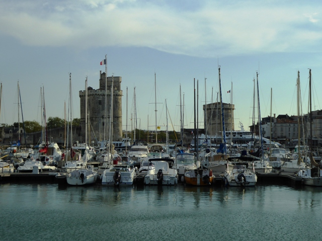 Our  next hotel is at La Rochelle
