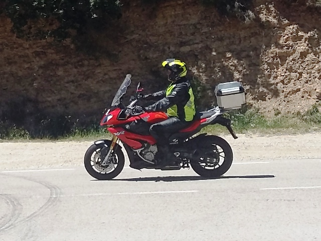 Ian G on his BMW S1000XR