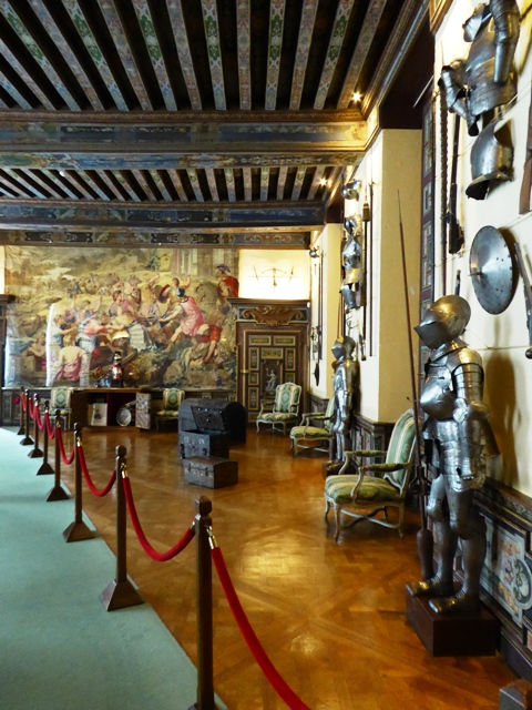 See the armoury