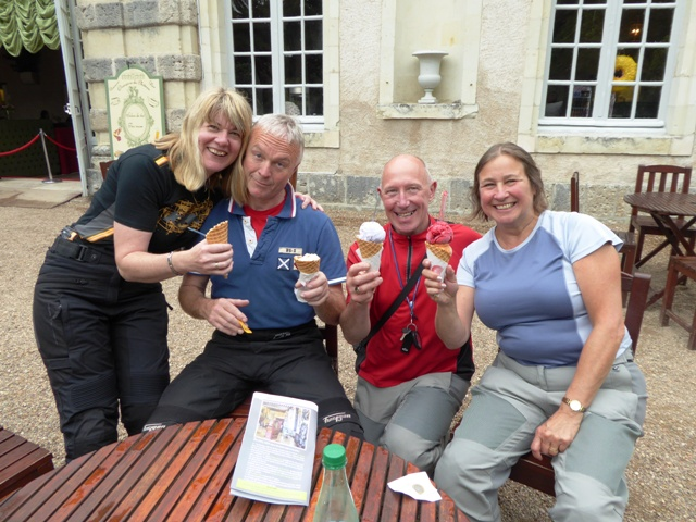 Ice creams at the Orangerie
