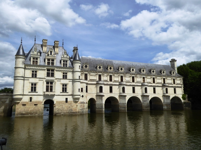 The stunning Chenonceau Chateau