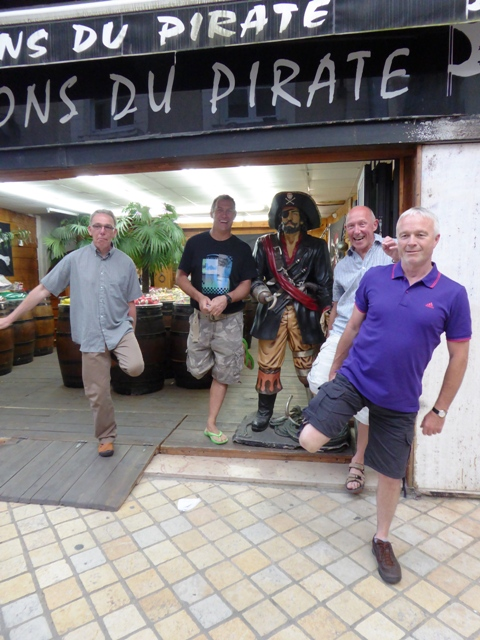 Our own pirates!