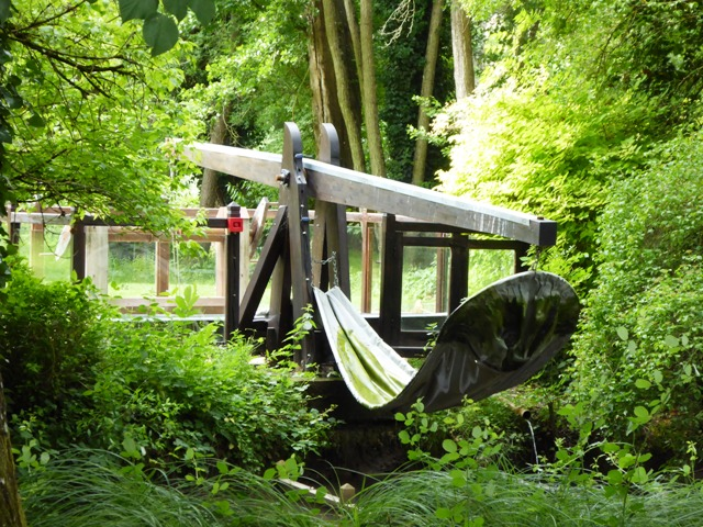 See the inventions in the gardens