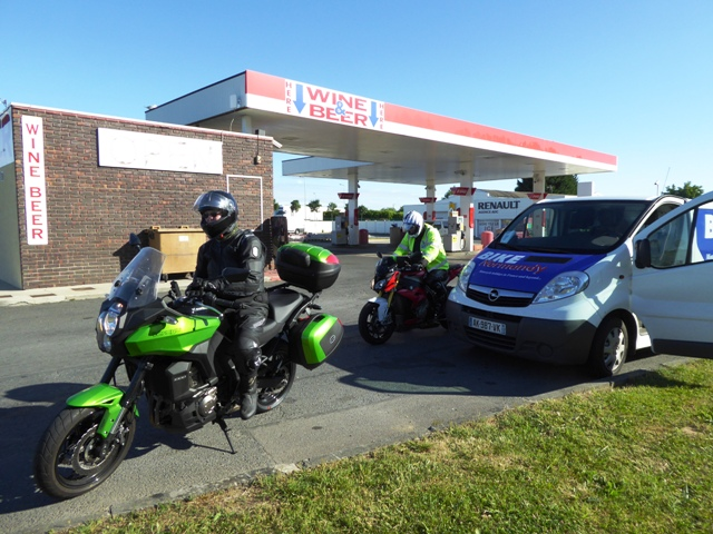 There's always one - or two - who haven't filled up!!