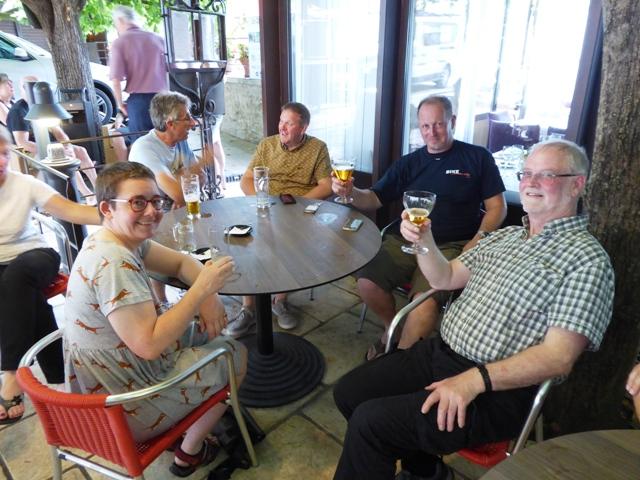 Alice, Steve W, Pete, David & Ian H