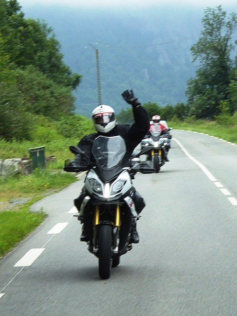"""Peter """"Tuffers"""" on his BMW S1000XR"""