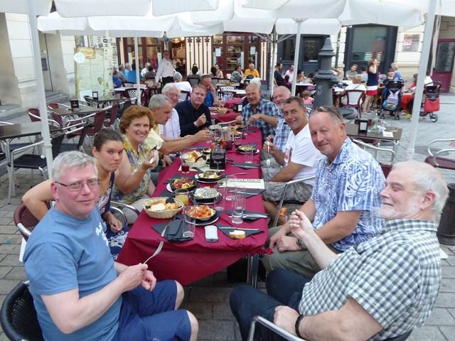 Many of us dine together