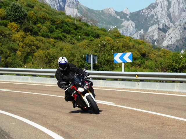 David on his BMW S1000RS