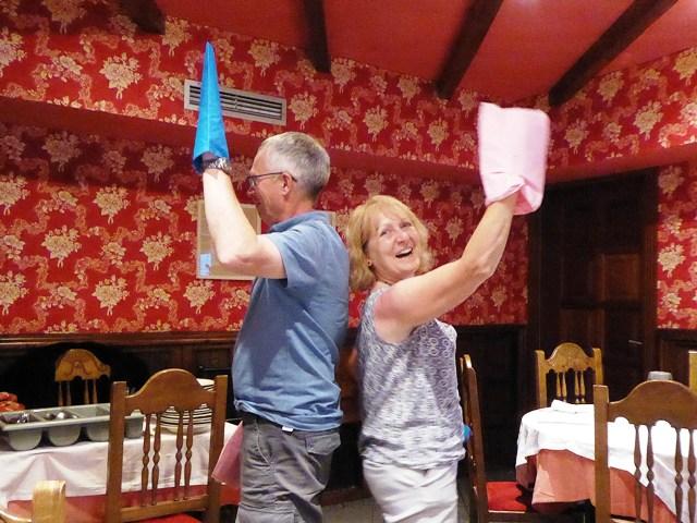 Neil & Ann - no match!