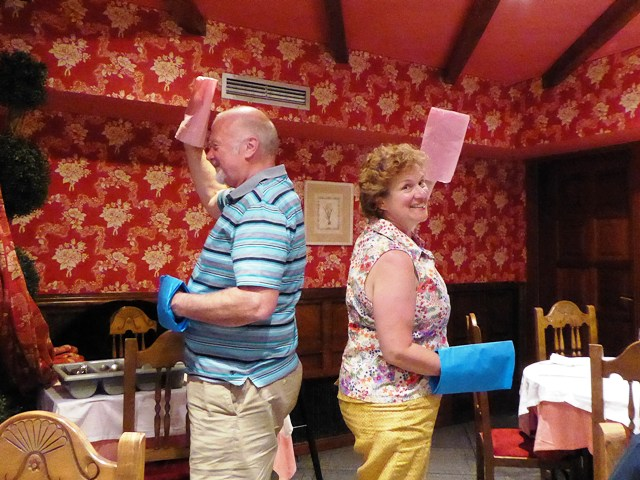 Our Mr & Mrs competition...a match!