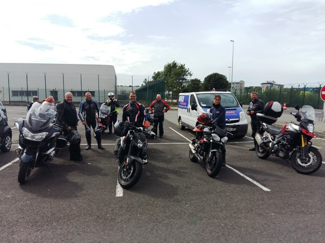 Back to Eurotunnel at 17.00 hrs