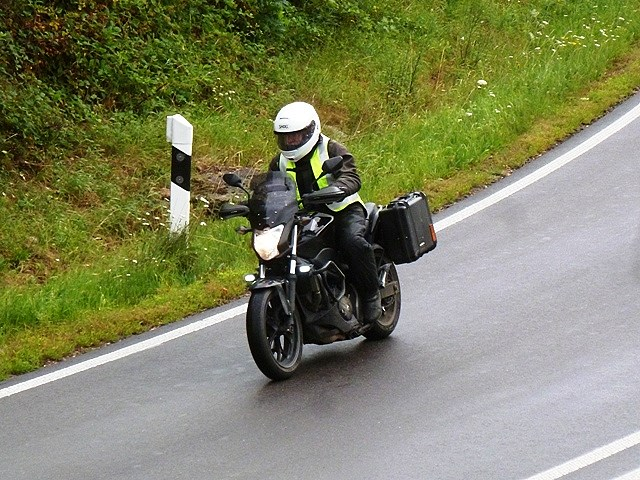 Keith on his NC 750S