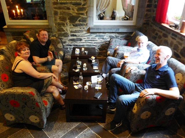 Jenny & Mark with Keith & Gordon