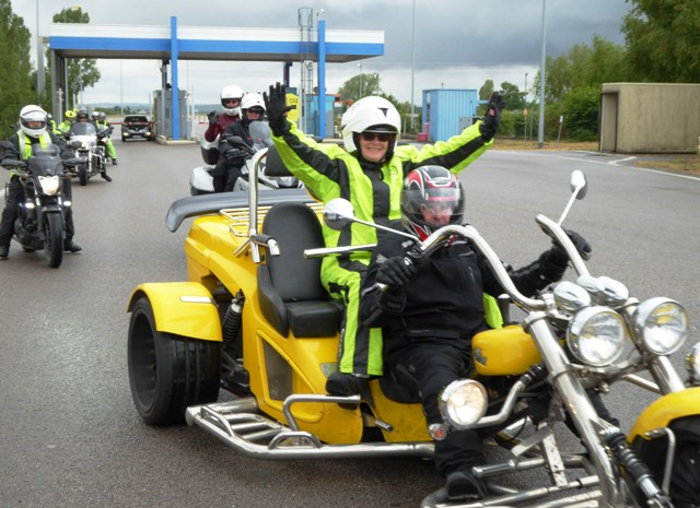 The yellow trike!!