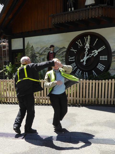 Stuart & Lynne dance a waltz