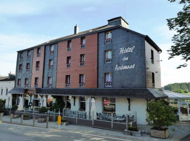 Our first hotel in Belgium