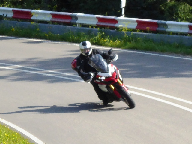 Mark on his Ducati Multistrada