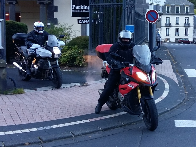 Mike on his BMW S1000XR