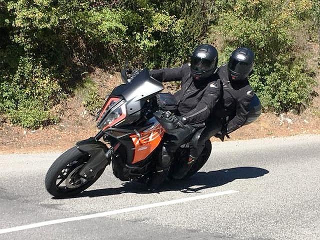 Matt & Shirley on their KTM 1290 super Adv