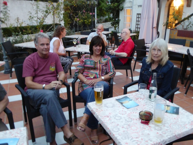 Nigel & Diane with Lin
