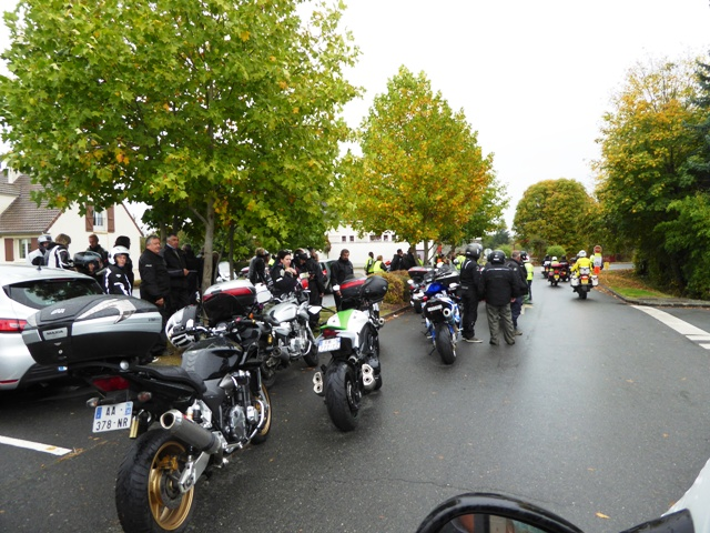 Another bike run at fuel stop