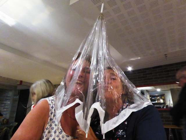 Our condom ladies (their words!!)