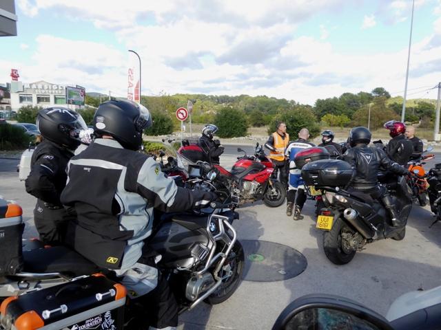 Fuel before we hit the motorway
