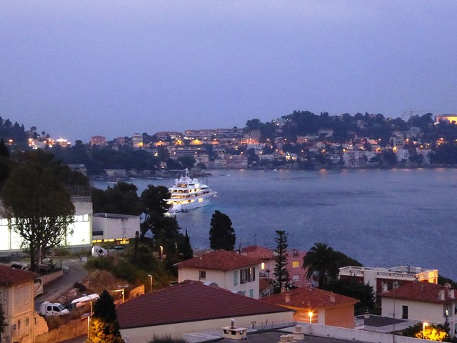 Villefranche by night