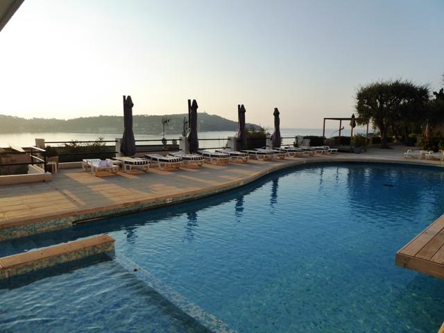 Enjoy an early morning swim