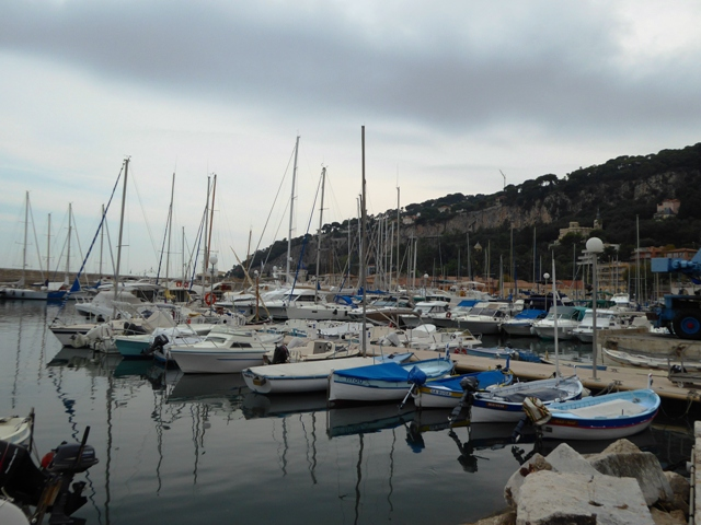 Down to the fishing harbour