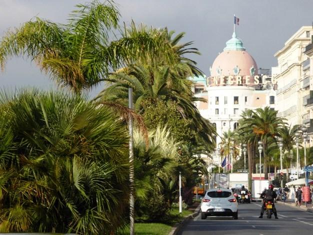 The famous Negresco Hotel