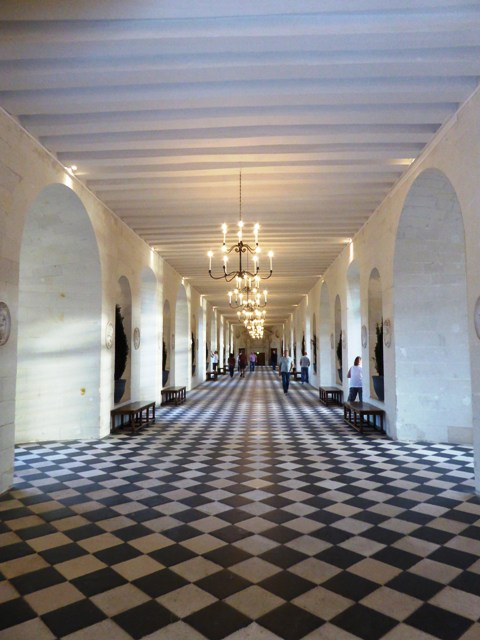 The grand interior