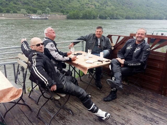 Coffee stop at Boppard