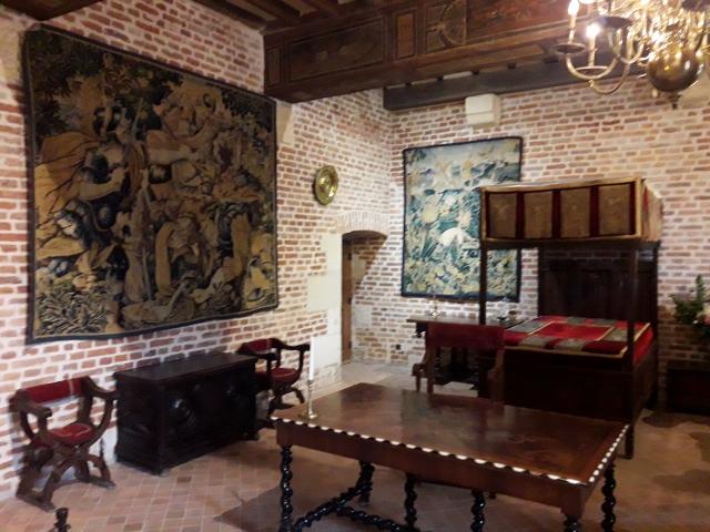 Marguerite de Navarre's bedroom
