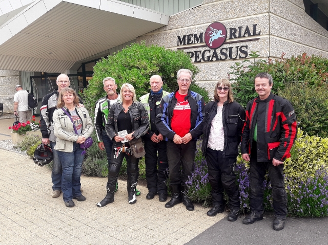 A small but friendly group for this short tour of the Normandy WW2 sights