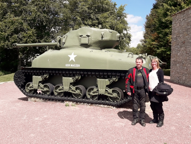 Final visit the Museum at Montormel