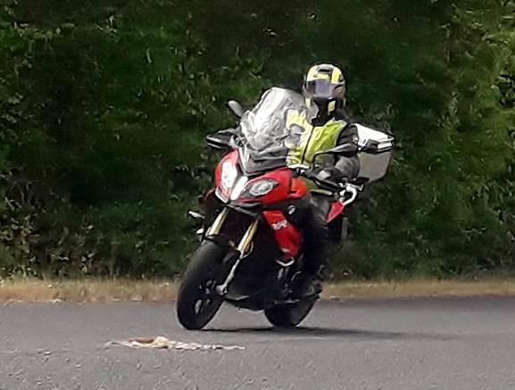 Ian on his BMW S1000XR